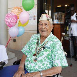 Pearl Harbor Survivor Herb Weatherwax Celebrates 99 Years