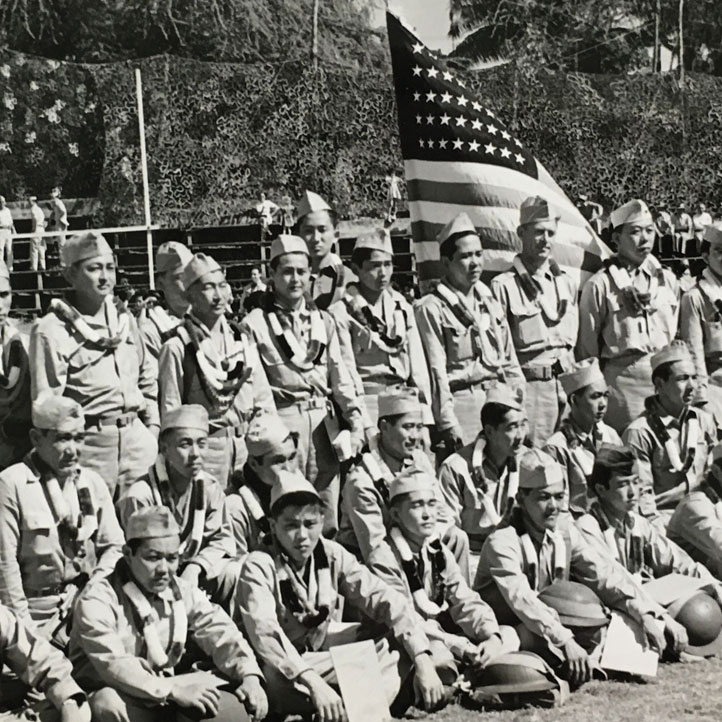 Service of Japanese Americans in World War II – Remembrance