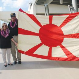 <i>Nagato</i> Flag Donated to Museum