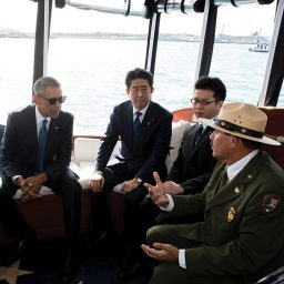 Being There: The Obama-Abe Visit to the USS <i>Arizona</i> Memorial